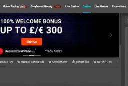 TonyBet UK - £300 Bonus