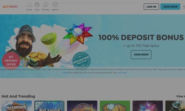 Spin and Win - new bonus